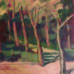 Bosque Manuel Guerrero  Artista honorífico Tamaño: 34,5x28,5 cm Técnica: acrílico sobre tabla Precio: 80€