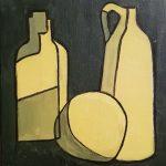 Botellas Teresa Izquierdo Título: Botellas Técnica: Acrílico sobre lienzo Medidas: 25x25x3cm Precio: 60€