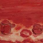 Desayuno en la Chimenea Rosa Lavilla Técnica: Acrílico sobre madera Medida: 19x16 com Precio: 30€