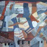 Estudio Musical Montse Bosh Medidas: Lienzo de 33 x 41 cm Técnica: Acrílico, collage  Precio: 55€