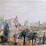 Acuarela Granada