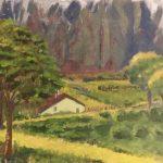 La casita del bosque Manuel Guerrero  Artista honorífico  Tamaño: 38x46 cm Técnica: Acrílico sobre tabla Precio: 80€