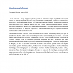 Monólogo para la Soledad de Fernando Medina