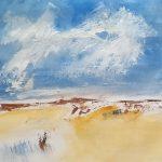 Pintura nubes de verano