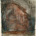 Pasadizo Emilia Fernández de Navarrete Técnica: acuarela líquida ,cera y pigmento sobre papel  Tamaño 17x22 cm Precio: 35€
