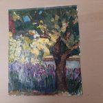 Primavera pequeño Tetera S. Troyano Técnica: Acrílico sobre cartulina Tamaño 44x35 cm Precio: 25€