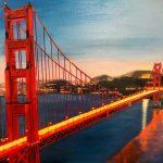 Puente San Francisco Esther de Andrés Tamaño: 46x38cm Técnica: Acrílico