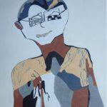 Retrato Montse Bosch  Medidas: Soporte 3D de 40 x 30 cm  Técnica: Acrílico  Precio: 90€