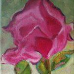 Flor Lourdes Salvador  Técnica: óleo sobre lienzo Tamaño: 22x27cm