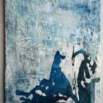 Wabisabi Emilia Fernández de Navarrete Tamaño: 30x20 cm,  Técnica: sobre tabla, cola con yeso, posos de café, pigmento ,ceras y acuarela líquida sobre tabla Precio: 35€