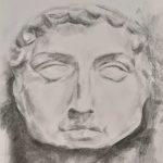 Sarah Shackles  Técnica: Carboncillo sobre papel
